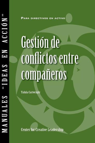 Managing Conflict with Peers (Spanish for Spain) - cover