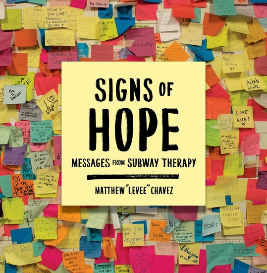 Signs of Hope - Messages from Subway Therapy - cover