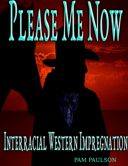 Please Me Now :Interracial Western Impregnation - cover