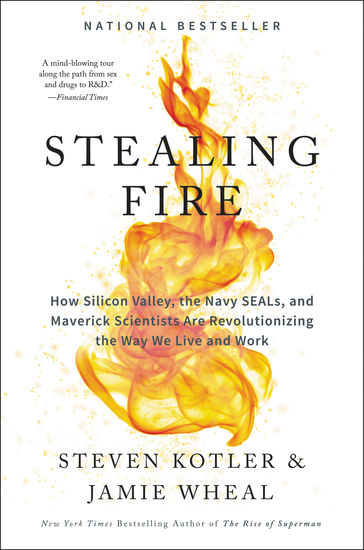 Stealing Fire - How Silicon Valley the Navy SEALs and Maverick Scientists Are Revolutionizing the Way We Live and Work - cover