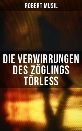 Die Verwirrungen des Zöglings Törleß - cover