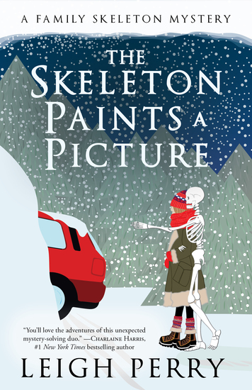 The Skeleton Paints a Picture - A Family Skeleton Mystery (#4) - cover