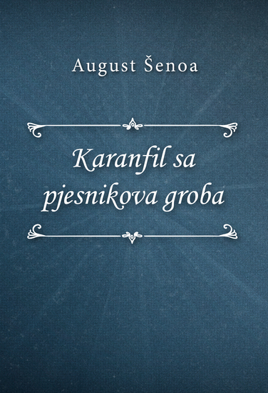 Karanfil sa pjesnikova groba - cover