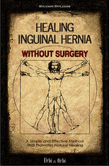 Healing Inguinal Hernia Without Surgery - cover