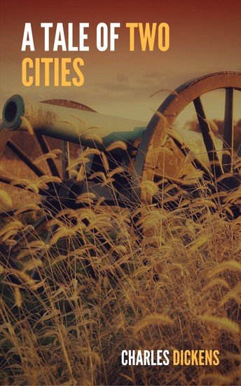 A Tale of Two Cities (Large Print Edition) - cover
