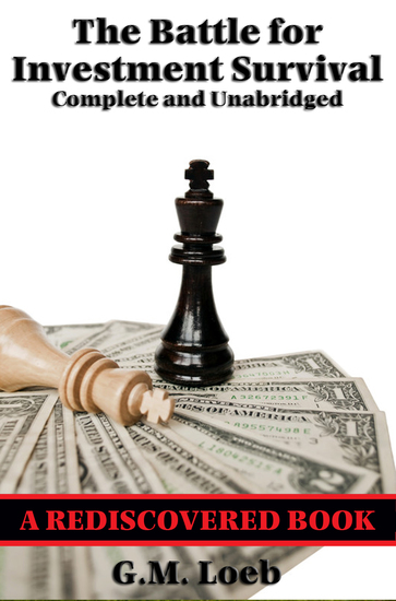 The Battle for Investment Survival (Rediscovered Books) - Complete and Unabridged - cover