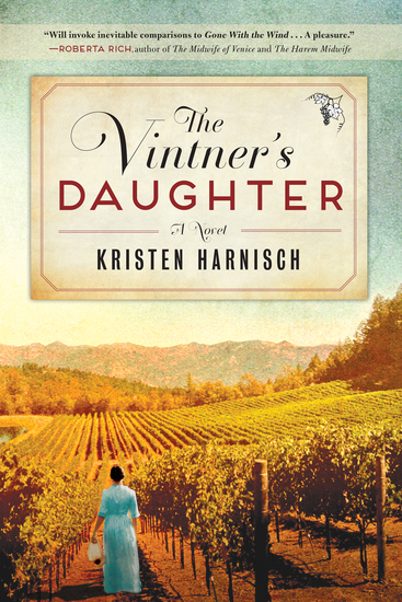 Vintner's Daughter - A Novel - cover
