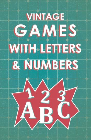 Vintage Games with Letters and Numbers - cover