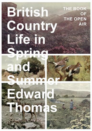 British Country Life in Spring and Summer - The Book of the Open Air - cover
