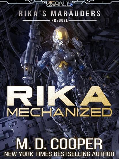 Rika Mechanized - Rika's Marauders #0 - cover