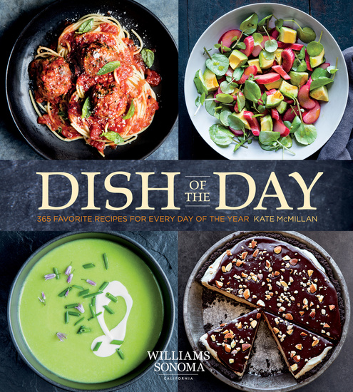 Dish of the Day - 365 Recipes for Every Day of the Year - cover