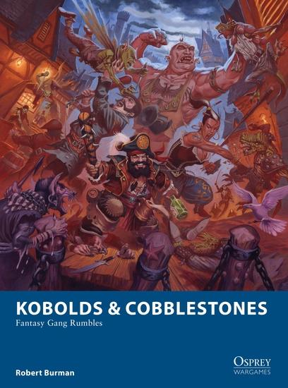Kobolds & Cobblestones - Fantasy Gang Rumbles - cover