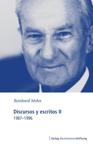 Discursos y escritos II - 1987-1996 - cover