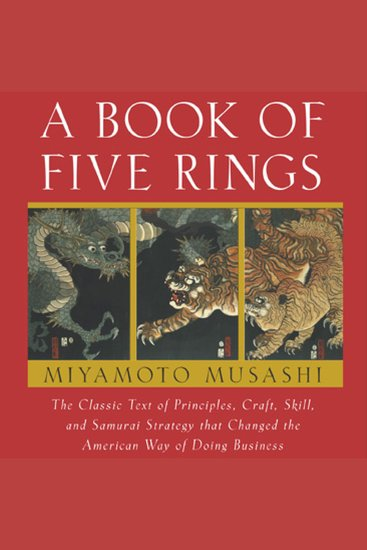 A Book of Five Rings - cover
