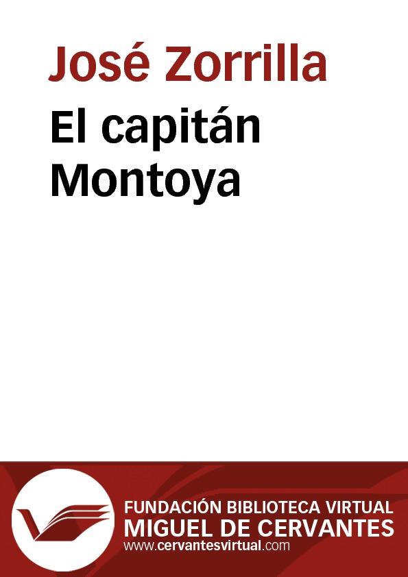 El capitán Montoya - cover