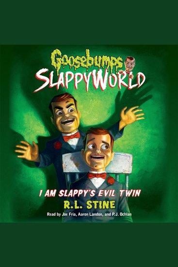 Goosebumps Slappyworld - I Am Slappy's Evil Twin - cover