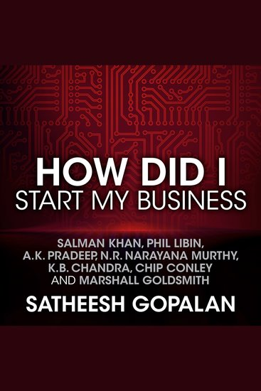 How Did I Start My Business - cover