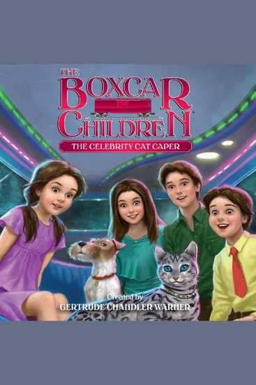 The Celebrity Cat Caper - cover