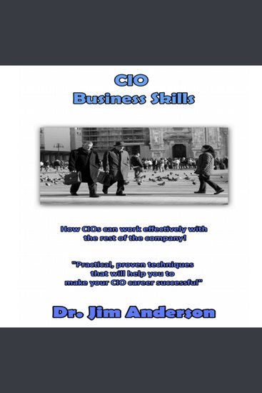 CIO Business Skills - How CIOs Can Work Effectively with the Rest of the Company! - cover