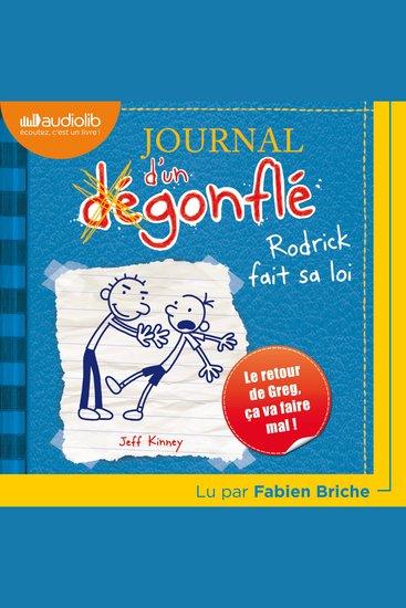 Journal d'un dégonflé 2 - Rodrick fait sa loi - cover