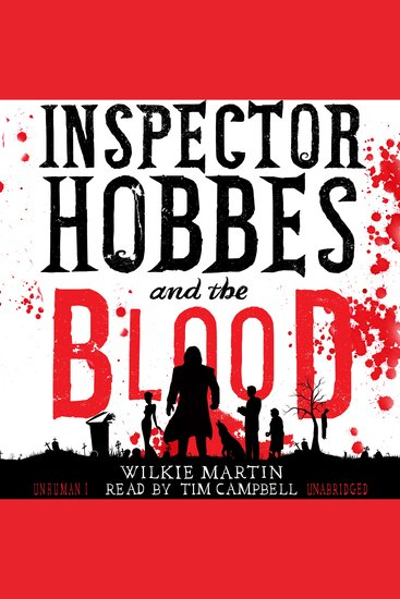 Inspector Hobbes and the Blood - A Cotswold Comedy Cozy Mystery Fantasy - cover