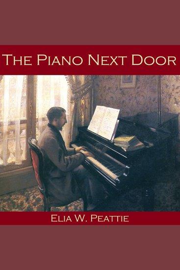 The Piano Next Door - cover