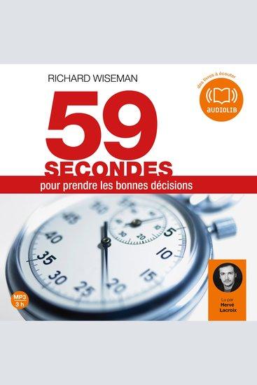 59 secondes pour prendre les bonnes décisions - cover