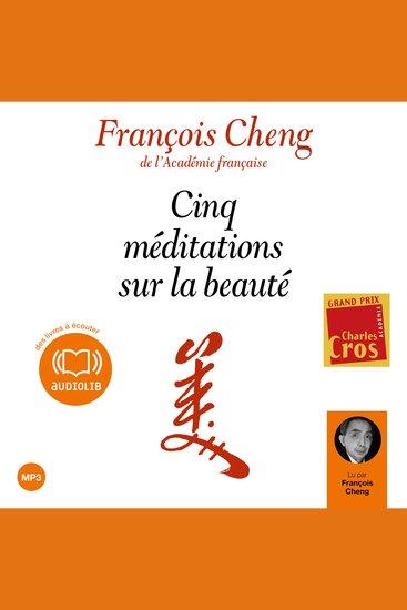 Cinq méditations sur la beauté - cover