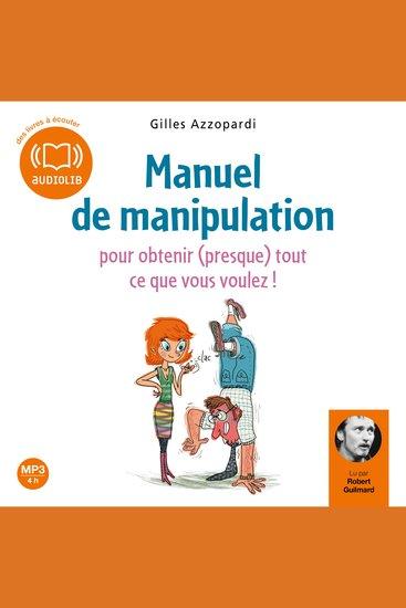 Manuel de manipulation - cover