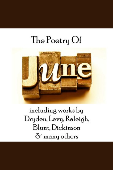 The Poetry of June - cover