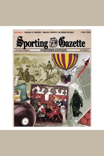 Sporting Gazette - Pastimes Edition - cover