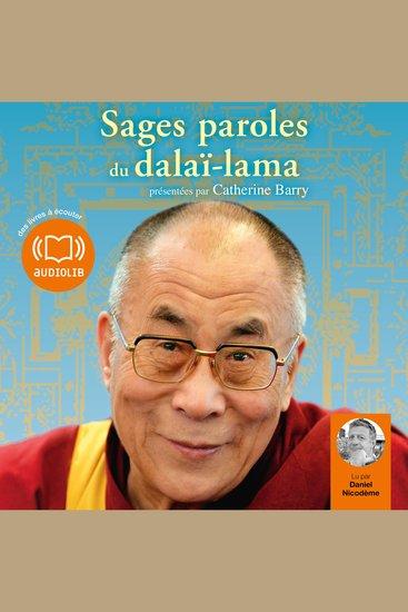 Sages paroles du dalaï-lama - cover