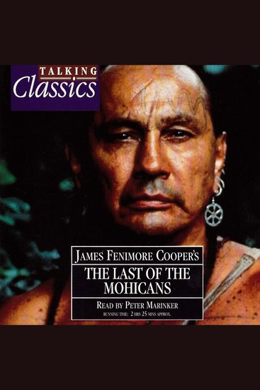 Last Of The Mohicans - cover