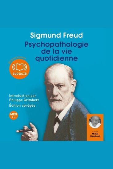 Psychopathologie de la vie quotidienne - cover