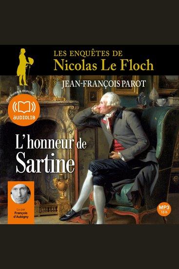 L'honneur de Sartine - cover