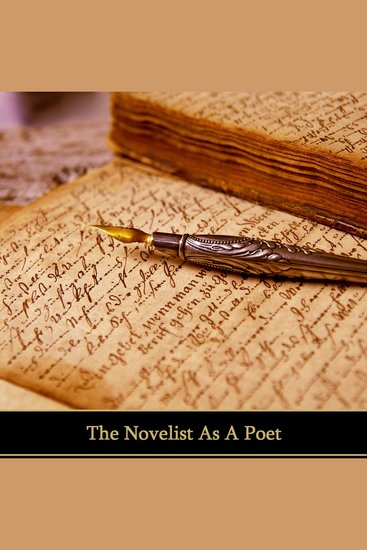 The Novelist As Poet - cover