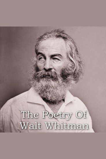 The Poetry of Walt Whitman - cover