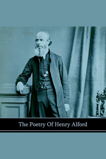 The Poetry of Henry Alford - cover