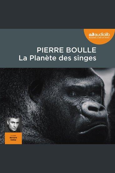 La Planète des singes - cover