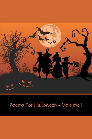 Halloween Poems Volume 1 - cover