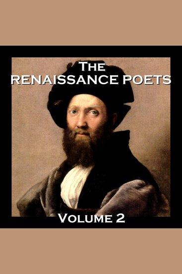 Renaissance Poets The: Volume 2 - cover