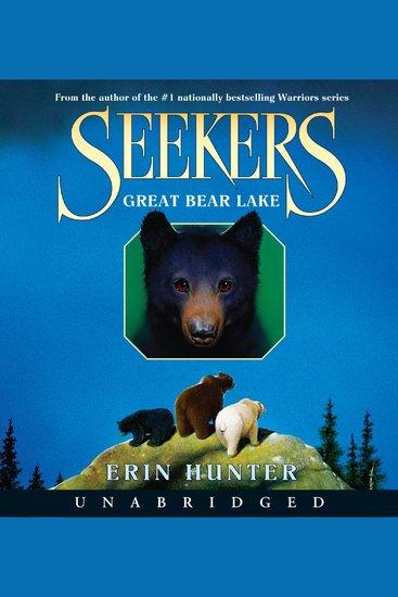 Seekers #2: Great Bear Lake - cover