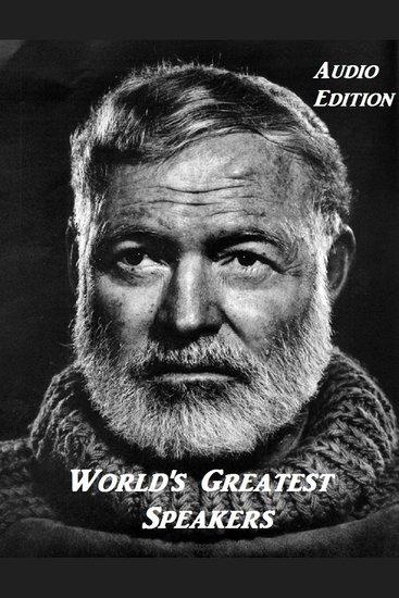 Ernest Hemingway 1954 Nobel Prize - cover