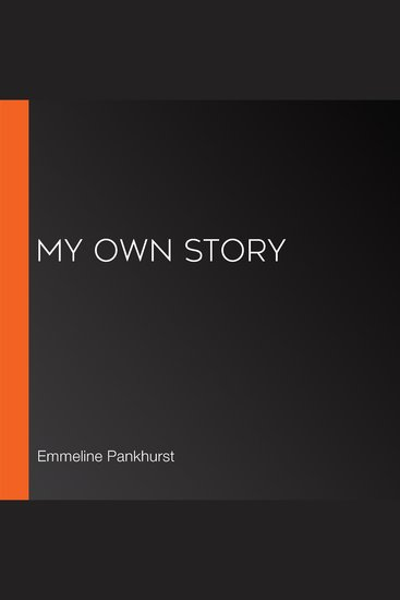 My Own Story - cover