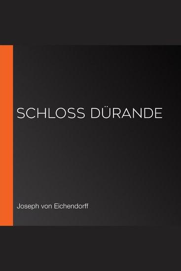 Schloß Dürande - cover