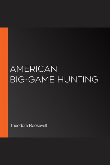 American Big-Game Hunting - cover
