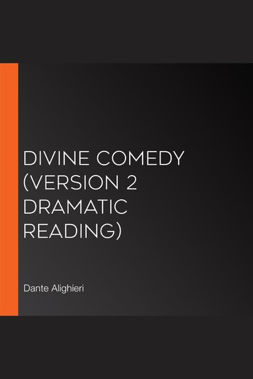 Divine Comedy (version 2 Dramatic Reading) - cover