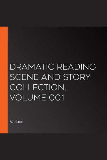 Dramatic Reading Scene and Story Collection Volume 001 - cover