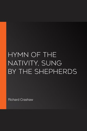 Hymn of the Nativity Sung by the Shepherds - cover