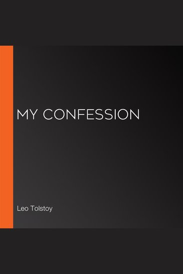 My Confession - cover